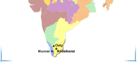 Ooty In India Map.Ooty Hill Station Tour Ooty Hill Tour In India Tour To Ooty Hill